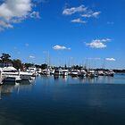 Yamba Marina, Northern NSW, Australia by Margaret Morgan (Watkins)