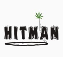 """Hitman"" Marijuana T-Shirt"