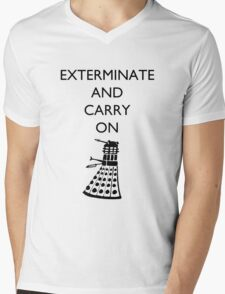 Exterminate and Carry On - Light Tee T-Shirt