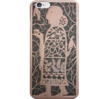 The Acorn Woman in Copper iPhone Case/Skin