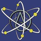 Atheist Atom by MrKroli