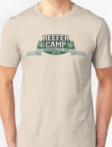 """Reefer Camp"" Marijuana T-Shirt"