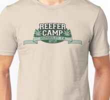 """Reefer Camp"" Marijuana Unisex T-Shirt"