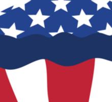 U.S.A. CUPCAKE parody Sticker