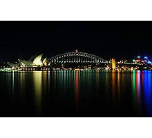 Sydney from Macquaries Point Photographic Print