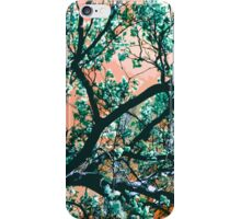Blue Magnolia Tree iPhone Case/Skin