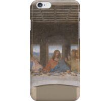 The Last Supper by Leonardo Da Vinci (c. 1498) iPhone Case/Skin