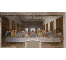 The Last Supper by Leonardo Da Vinci (c. 1498) Photographic Print