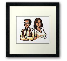 BARSON Framed Print