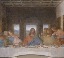 The Last Supper by Leonardo Da Vinci (c. 1498) Sticker