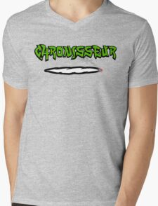 Funny Cannabis Mens V-Neck T-Shirt