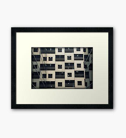 checkers Framed Print