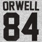 Orwell 84 Jersey - Black by B Rush