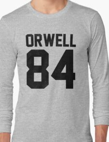 Orwell 84 Jersey - Black Long Sleeve T-Shirt