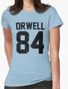 Orwell 84 Jersey - Black Womens T-Shirt