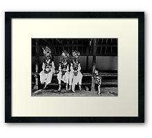 Tenganan Dauh Tukad Teenagers Framed Print