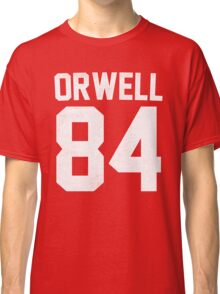 Orwell 84 Jersey - White Classic T-Shirt
