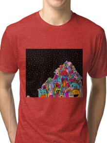 Pile of Monsters Tri-blend T-Shirt