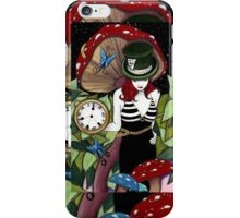 A Female MadHatter iPhone Case/Skin