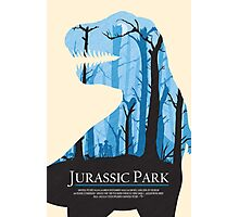 Jurassic Park alternative poster Photographic Print