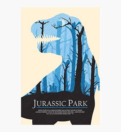 Jurassic Park alternative poster Photographic Print