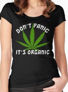 Funny Cannabis Women's Fitted Scoop T-Shirt
