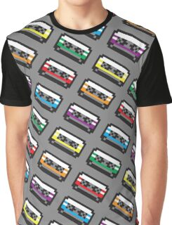 PIXEL CASSETTES  Graphic T-Shirt