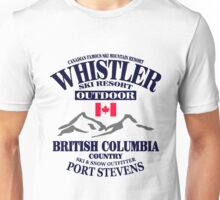 Whistler Ski Resort - British Columbia - Canada Unisex T-Shirt