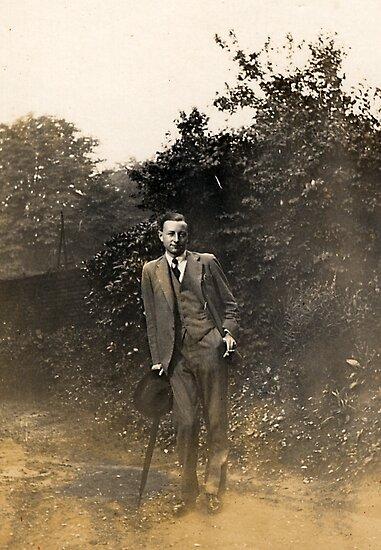 Grandpa 1929 by Robert Phillips