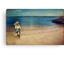 seaside holiday Canvas Print