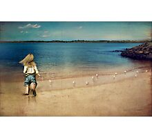 seaside holiday Photographic Print