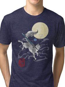 The Great Grey Wolf - Sifkami Tri-blend T-Shirt