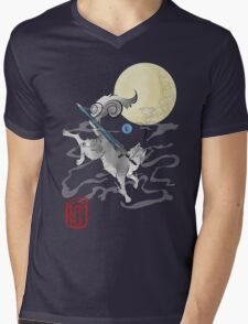The Great Grey Wolf - Sifkami Mens V-Neck T-Shirt