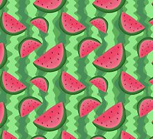 Watermelon Slice Pattern by SaradaBoru