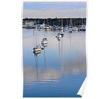 Sailboats I Poster