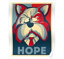 Hope King Furry Poster