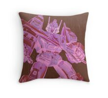 G1 Transformers Victory Poster Throw Pillow