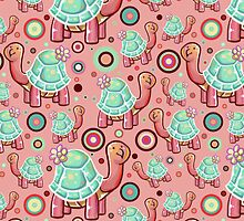 Flower Turtle Pattern by SaradaBoru