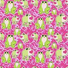 Love Frogs Pattern by SaradaBoru