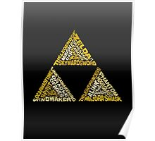 The Legend of Triforce Poster
