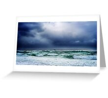 Dwarfed by Mother Nature Greeting Card