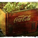 Antique Coke Machine by vigor