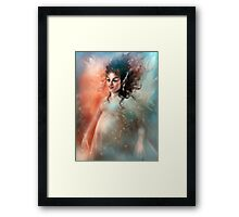 My Love Has Given Me Wings Framed Print