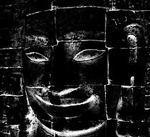 The Smiling One, Cambodia I by Michael Treloar