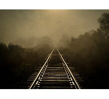 Train To Nowhere Photographic Print