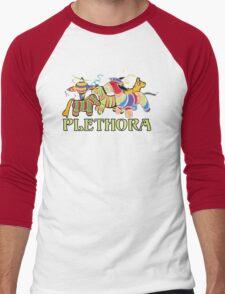 Three Amigos Would you say I have a Plethora of Pinatas? Men's Baseball ¾ T-Shirt