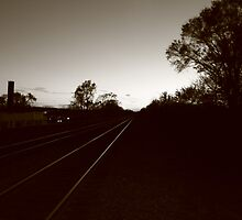 Leaving Town by Adam Kuehl