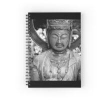 Buddhist Statue, Japanese Temple. Spiral Notebook