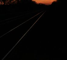 Disappearing Tracks by Adam Kuehl