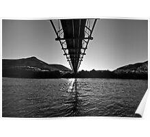Yakima River Bridge Poster